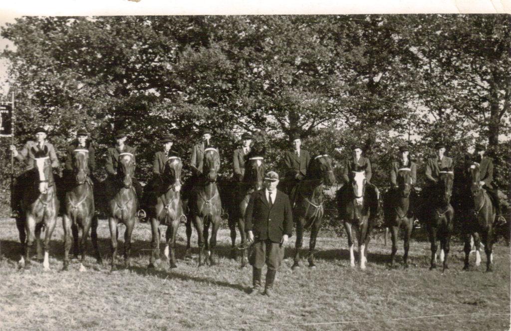 De Bosruiters in 1947